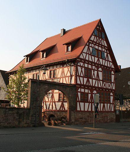 Bild von Stutensee: Das Kerns-Max-Haus, 'Wahrzeichen' von Stutensee-Blankenloch