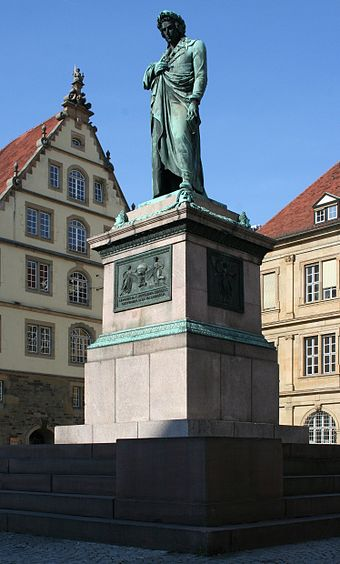 Bild von Stuttgart: Friedrich Schiller