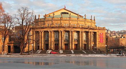 Bild von Stuttgart: Opernhaus im Schlossgarten