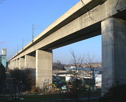 Bild von Stuttgart: Eisenbahnviadukt Stuttgart-Münster