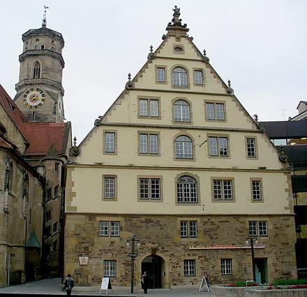 Bild von Stuttgart: Fruchtkasten mit Musikinstrumentensammlung