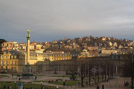 Bild von Stuttgart: Blick vom Kleinen Schlossplatz zum Neuen Schloss