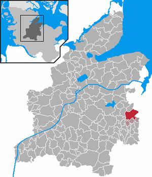 Karte von Flintbek