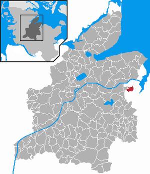 Karte von Kronshagen
