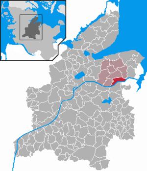 Karte von Neuwittenbek