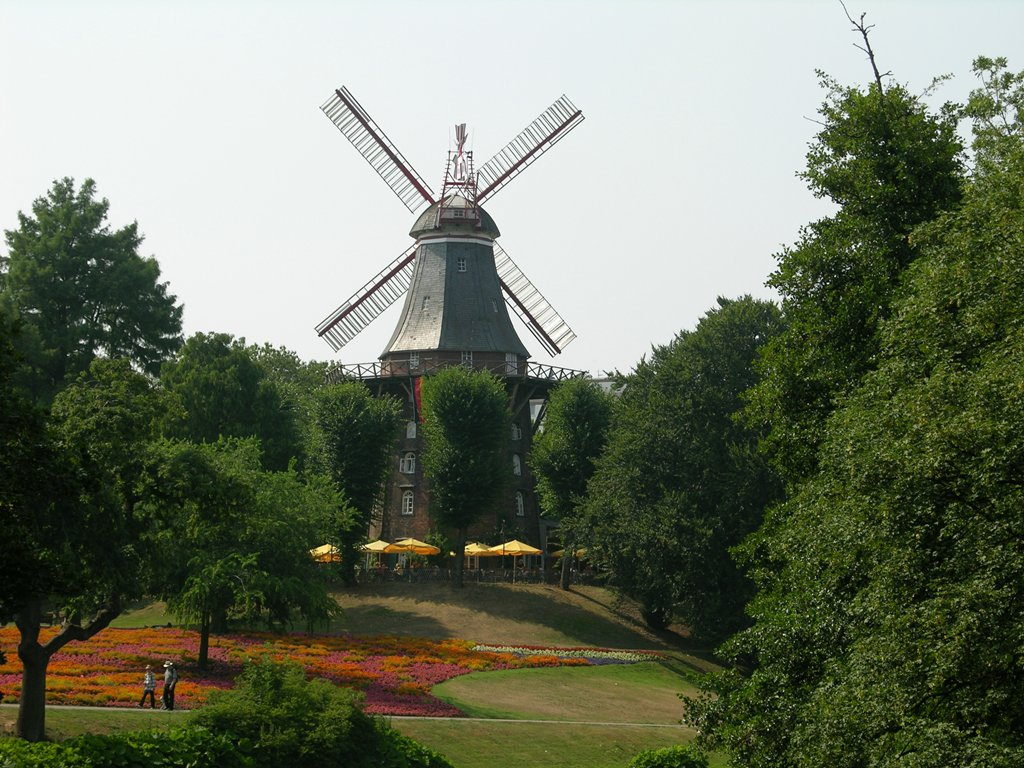 Bild von Bremen: 060721-160544-Mühle
