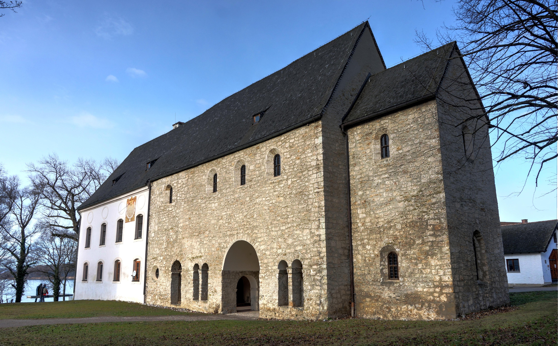 Bild von Rosenheim (Landkreis): Fraueninsel, karolingische Torhalle