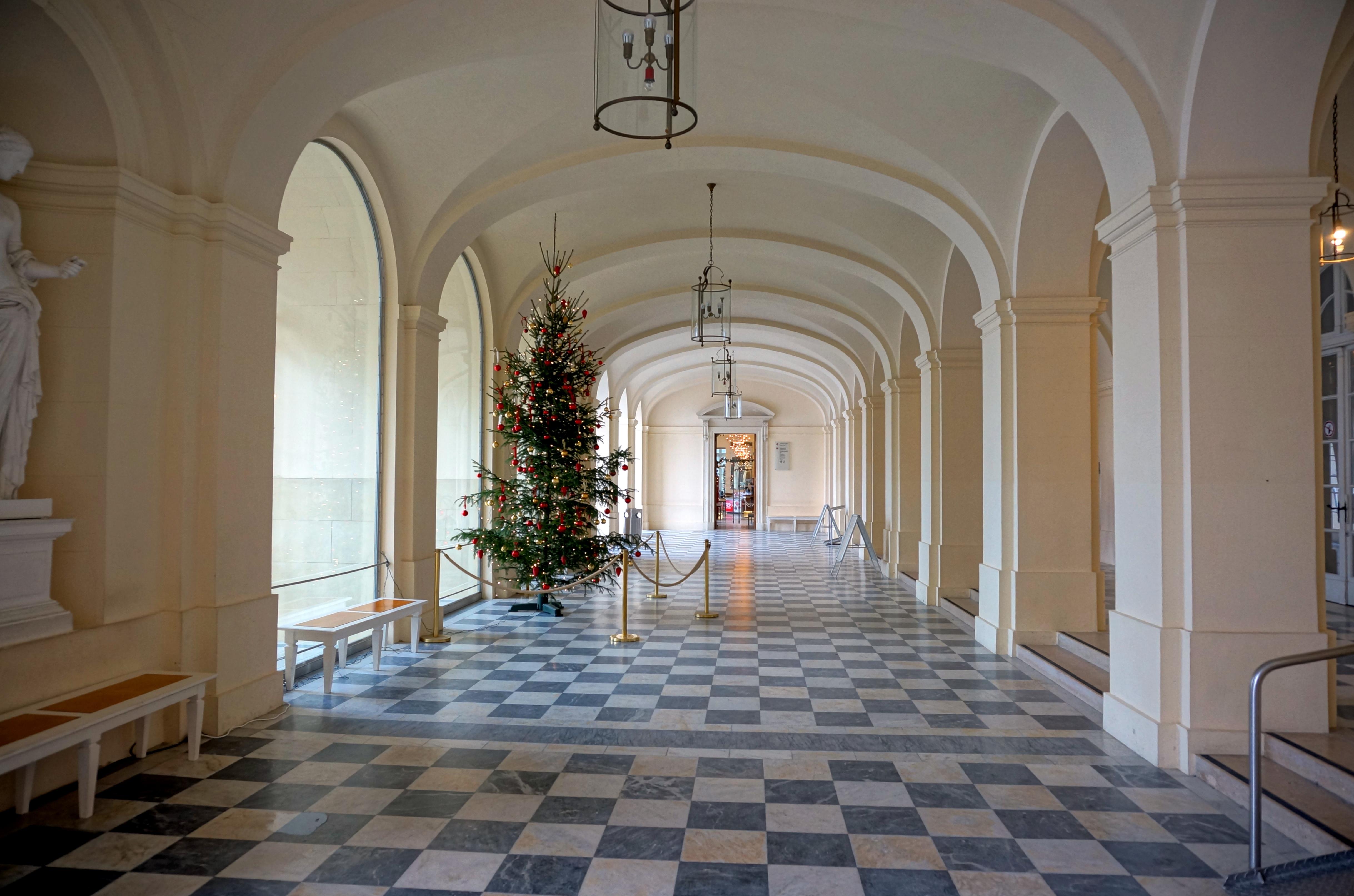 Bild von Rosenheim (Landkreis): Herrenchiemsee, Neues Schloss, Eingangshalle