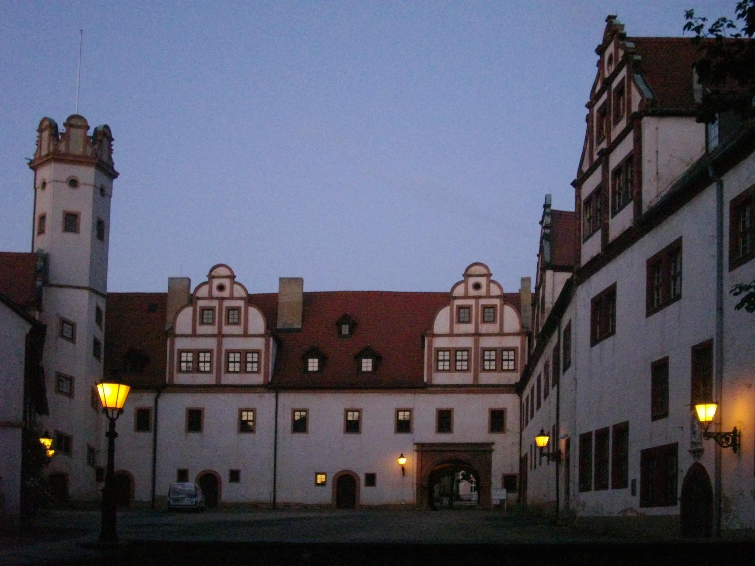 Bild von Zwickau (Landkreis): Innenhof Schloss Forderglauchau