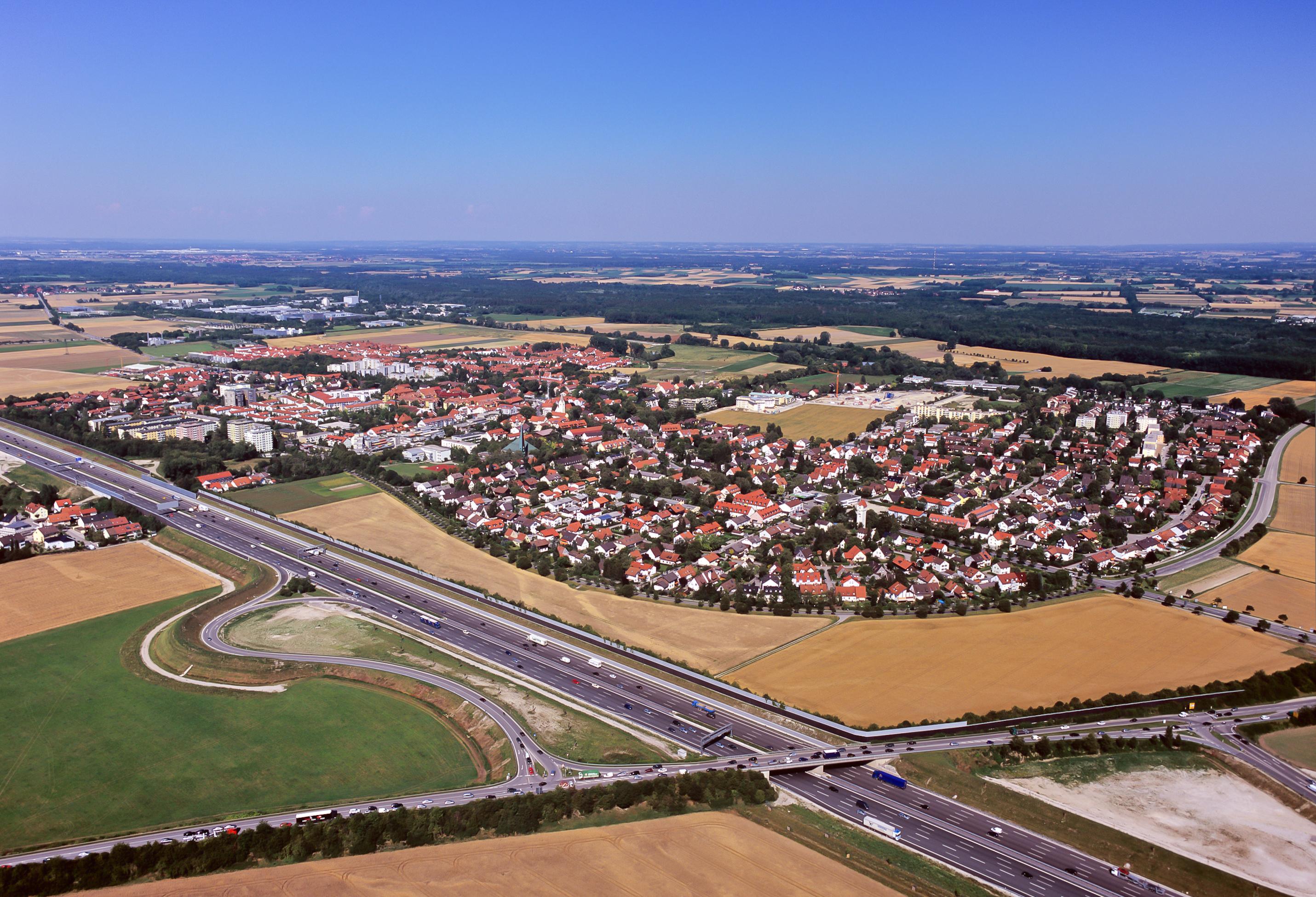 Bild von München (Landkreis): LK6509-Garching-Süd-Luftbild