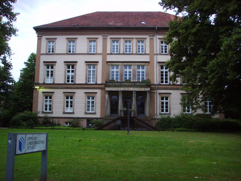Bild von Lippe (Landkreis): Lippische Landesbibliothek, Detmold 2008