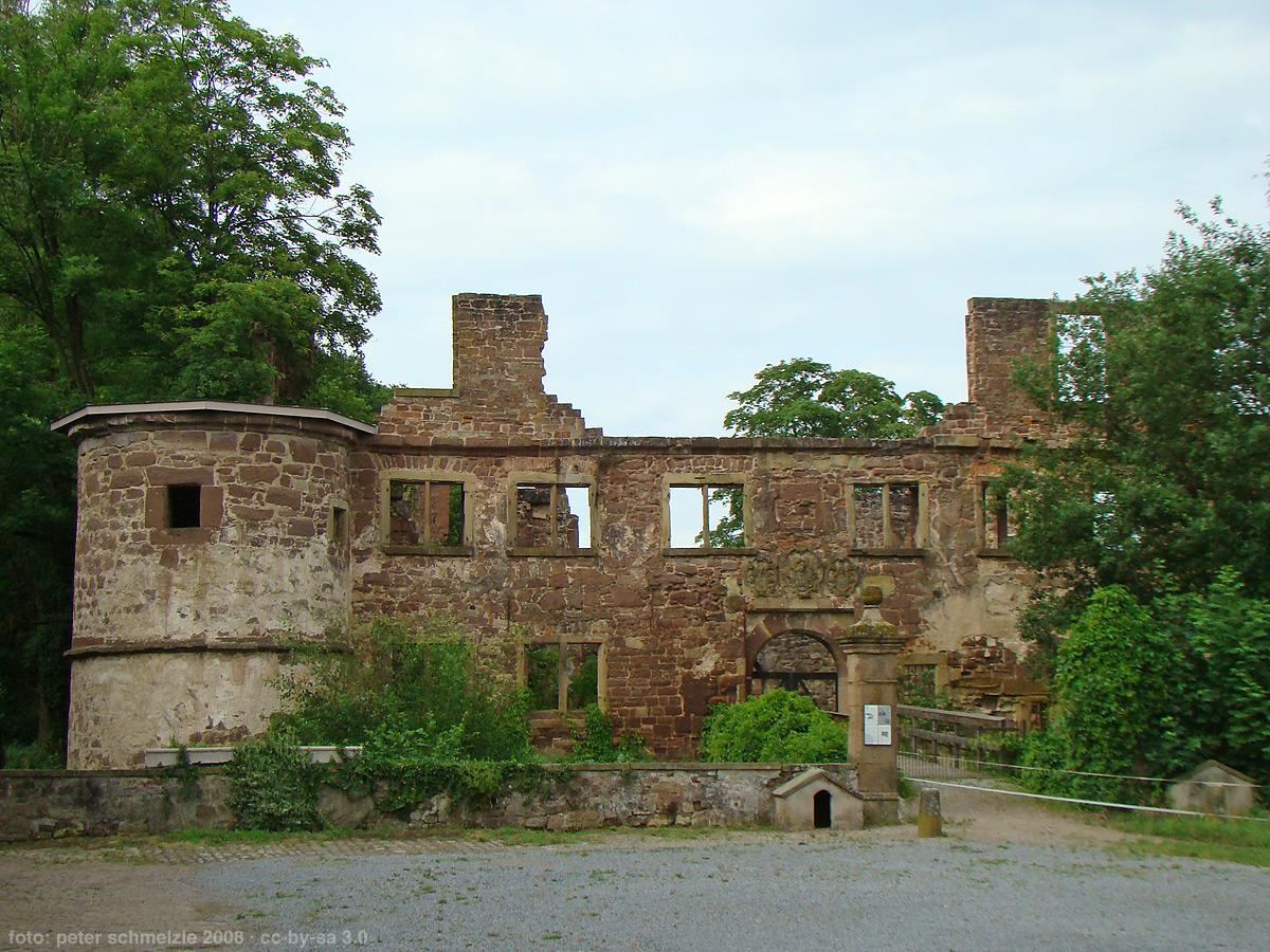 Bild von Karlsruhe (Landkreis): Menzingen-wschloss2008