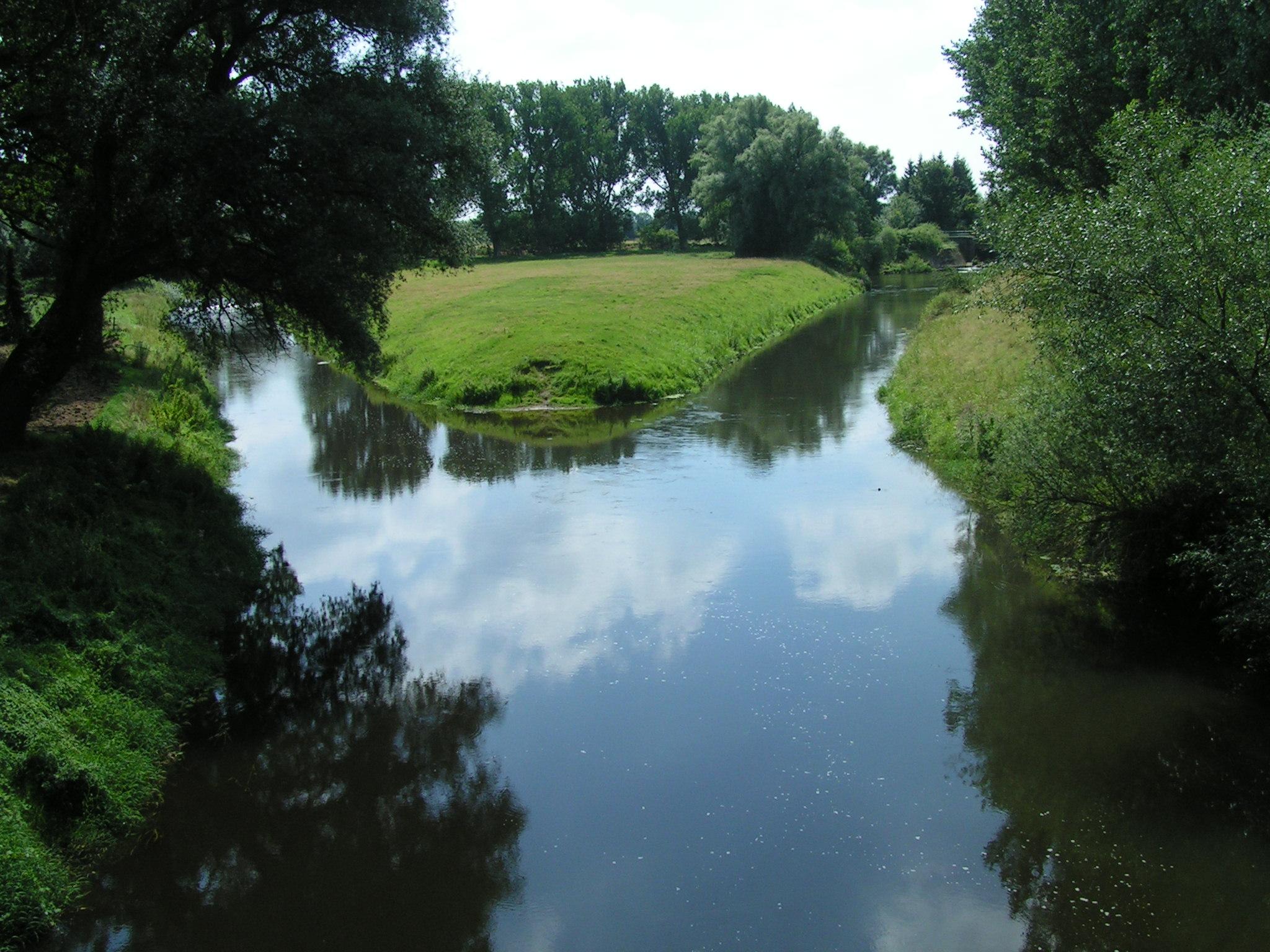 Bild von Gifhorn (Landkreis): PICT4952 Okermündung in Müden