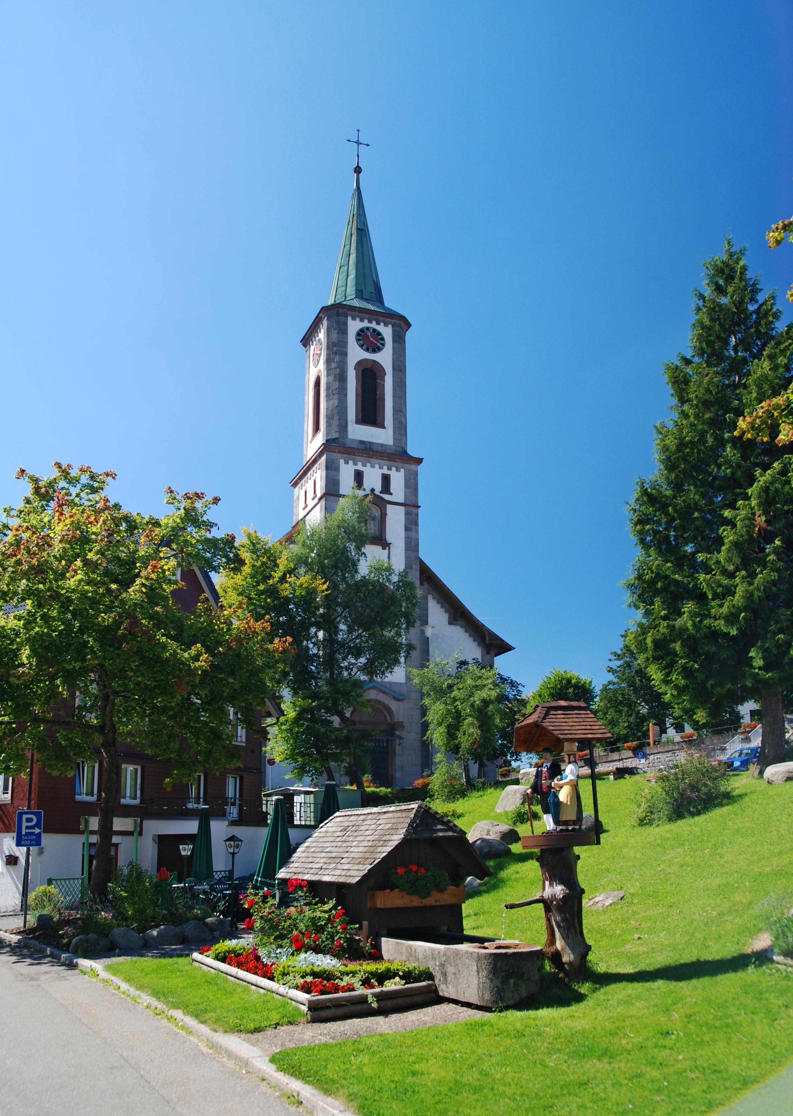 Bild von Schwarzwald-Baar-Kreis: Schoenwald Kirche