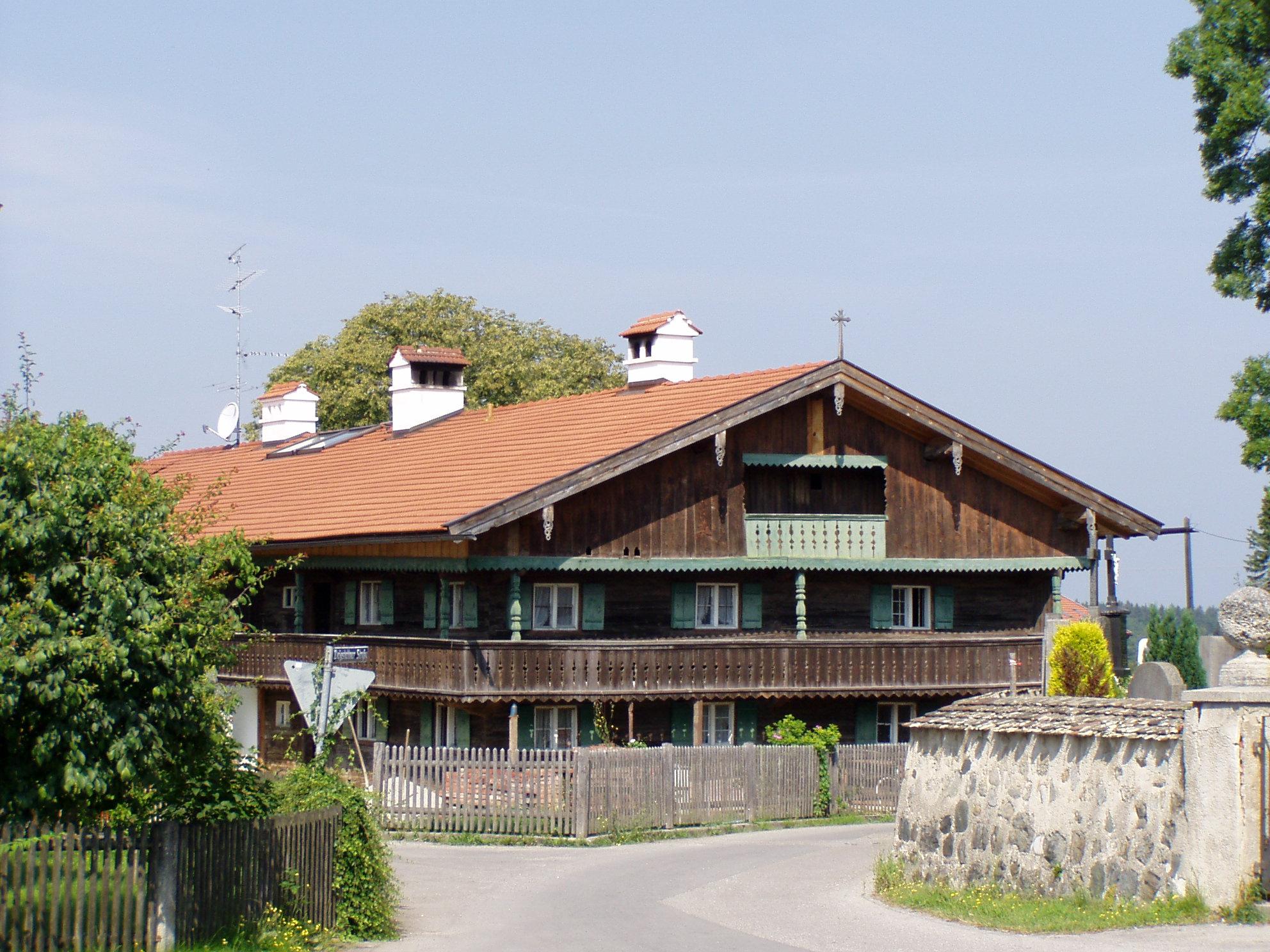 Bild von München (Landkreis): Straßlach-Dingharting - Großdingharting - Bauernhaus